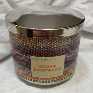 Bath and Body Works Ocean Driftwood 3 Wick Candle